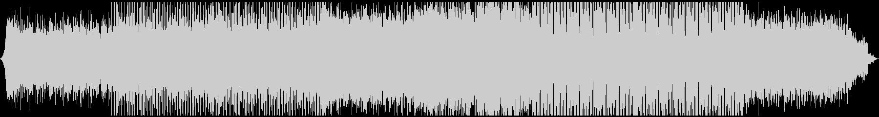 アコギがノスタルジックなトロピカルハウスの未再生の波形