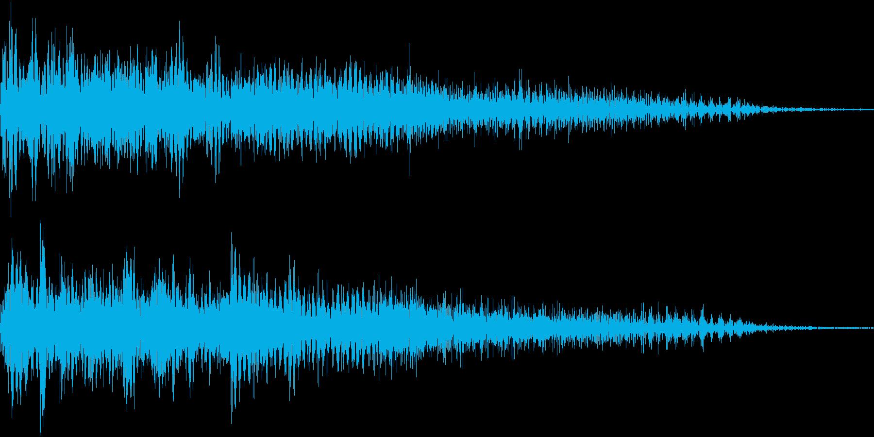 InvaderBuzz 発砲音 9の再生済みの波形