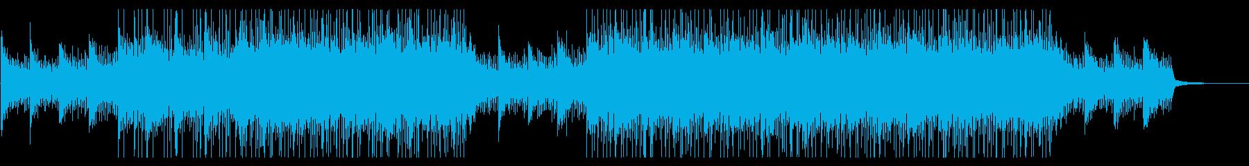 シリアスな雰囲気のチルアウト系EDMの再生済みの波形