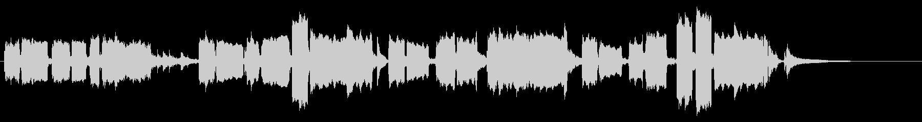 主人公が演奏する悲しいオカリナの旋律の未再生の波形