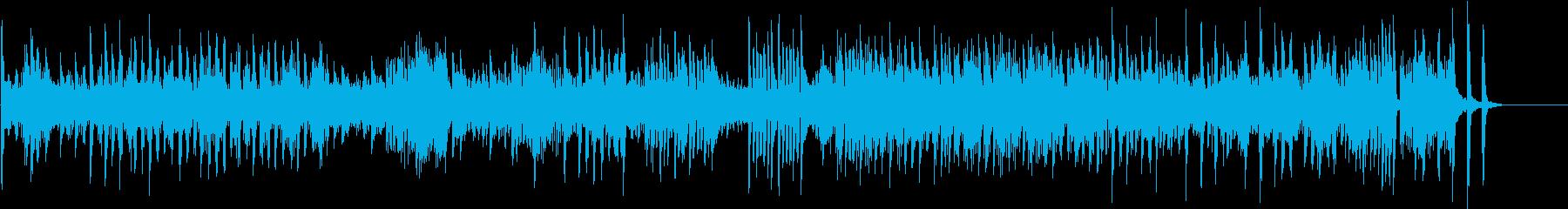 疾走感あふれるピアノの名曲「熊蜂の飛行」の再生済みの波形