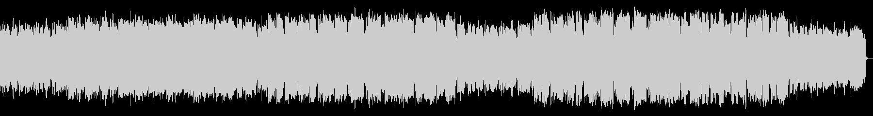 ピアノ・管の、ほのぼのメロディアスPopの未再生の波形