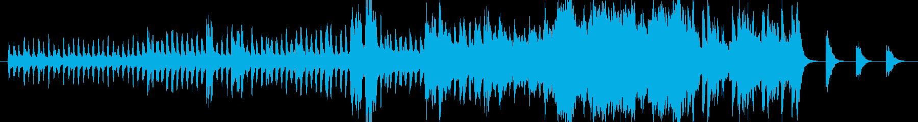 ミステリー謎解きシーンに~オーケストラ風の再生済みの波形