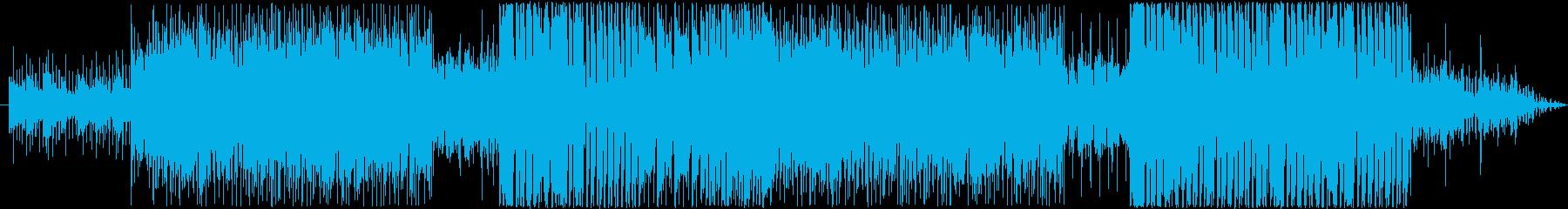 ジャズで暖かい曲の再生済みの波形