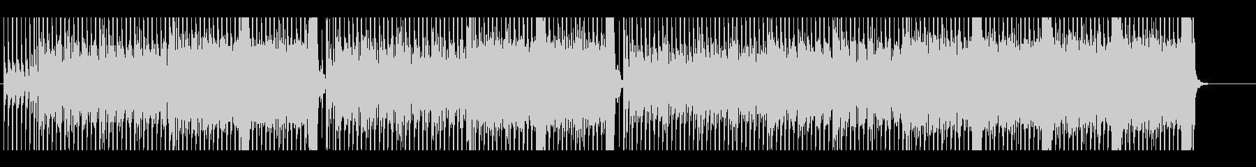 エネルギッシュでファストなロックギターの未再生の波形