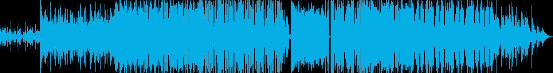 少し切ないガットギターのバラードBGMの再生済みの波形
