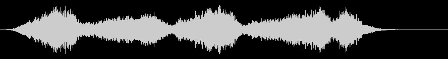 音楽:不気味なストリング、ソロバイ...の未再生の波形