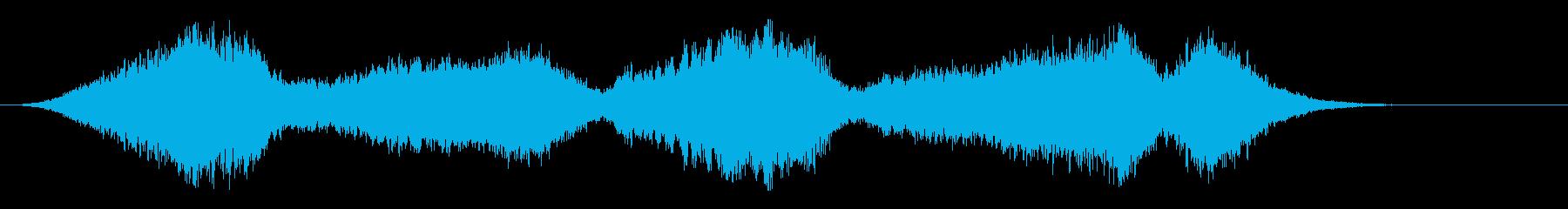 音楽:不気味なストリング、ソロバイ...の再生済みの波形