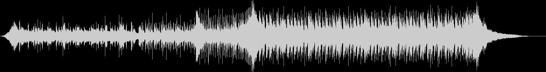 「山の魔王の宮殿にて」短いEDMカバーの未再生の波形