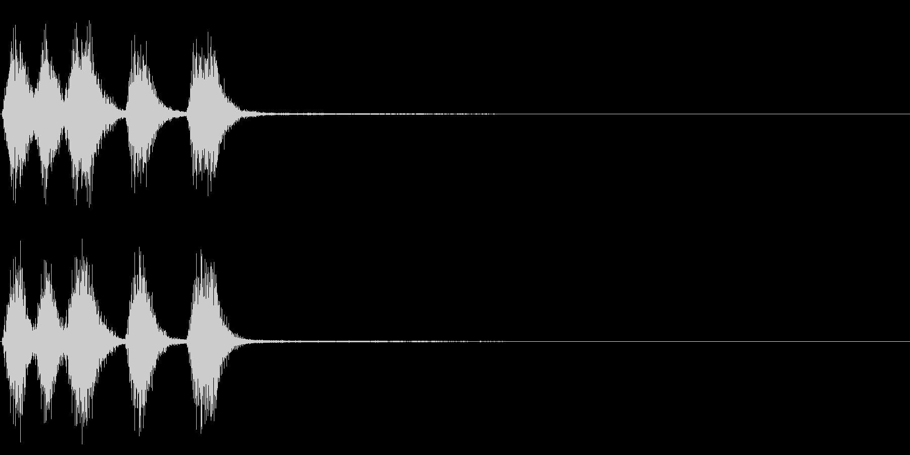 トランペット ファンファーレ 定番 11の未再生の波形