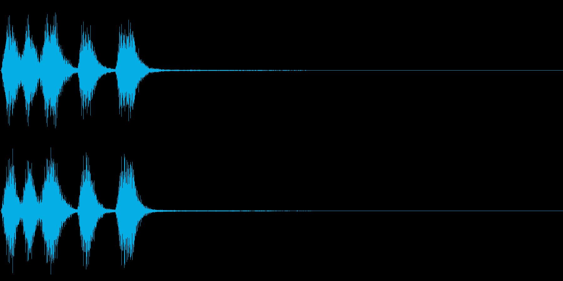 トランペット ファンファーレ 定番 11の再生済みの波形