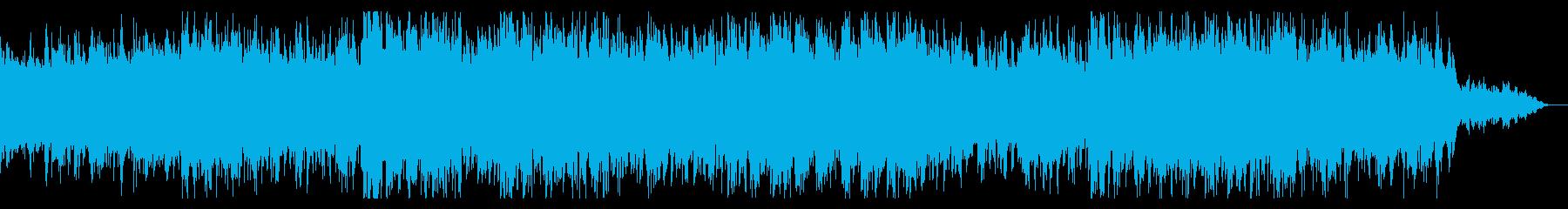 デジタルダークなテクスチャの再生済みの波形