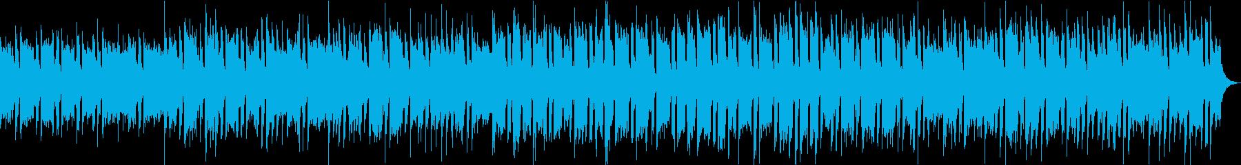 CM向け明るくコミカルなBGMの再生済みの波形