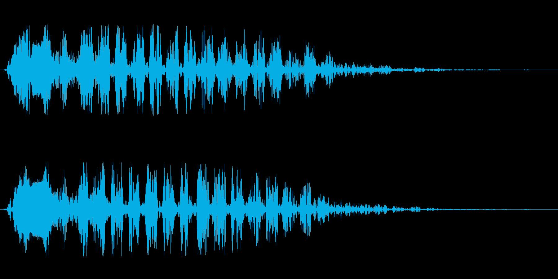 シュタララ(ダウン)の再生済みの波形