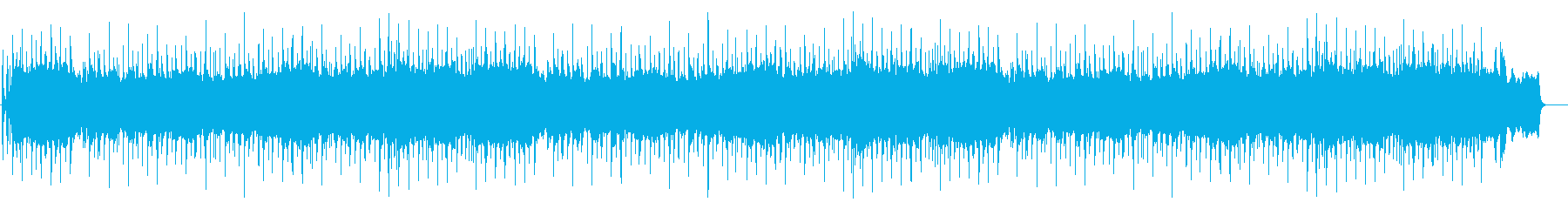リリカルでトラディッショナルなバラードの再生済みの波形