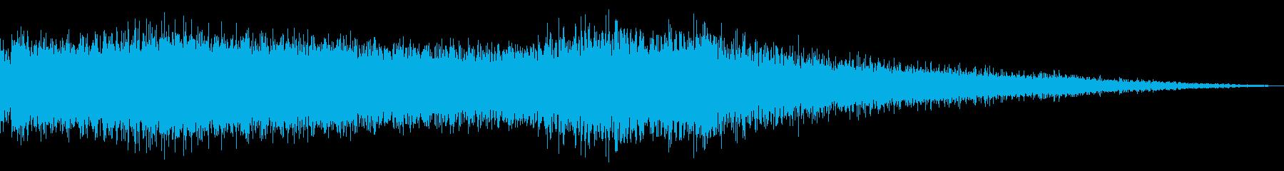 Space Fx:メタルサンダーの再生済みの波形