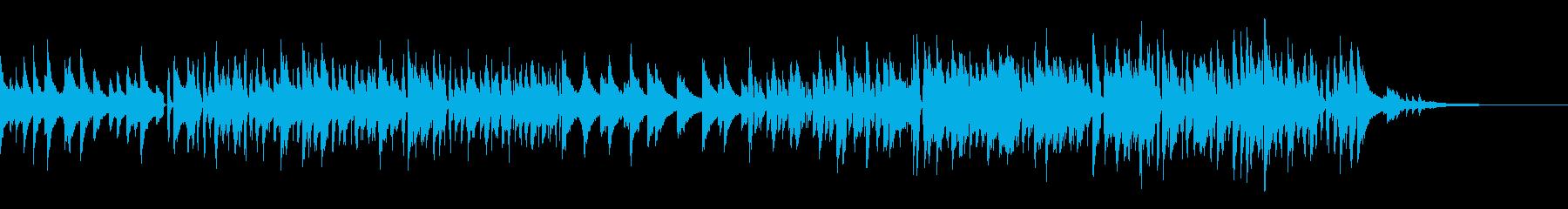 ピアノメインのJazzの再生済みの波形