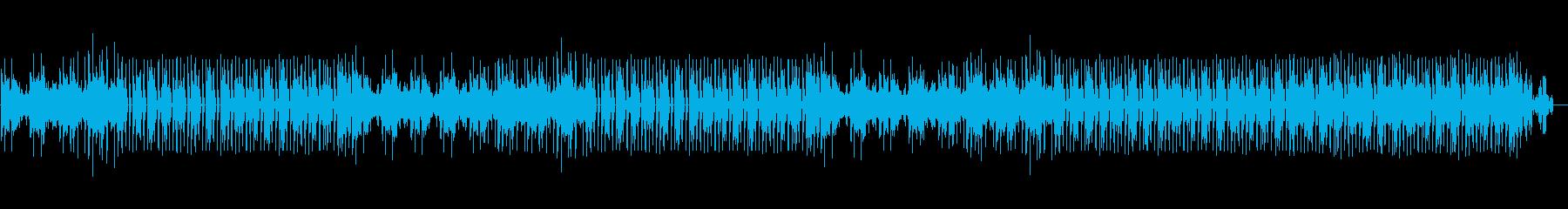 ムーディーでスタイリッシュな洋楽ポップの再生済みの波形