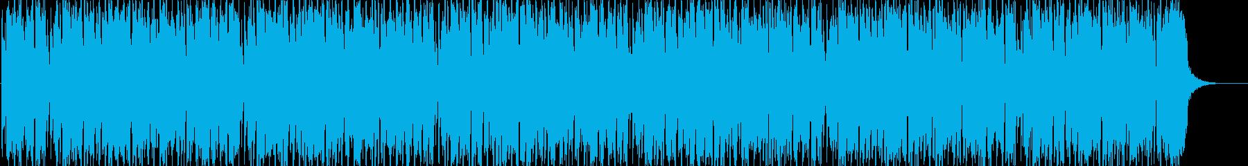 ノリノリな気分のサックス&ギターの再生済みの波形