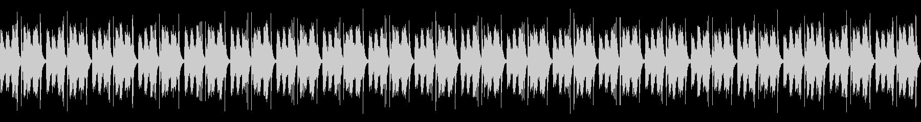 [和太鼓二重奏]盆踊りの大太鼓02の未再生の波形
