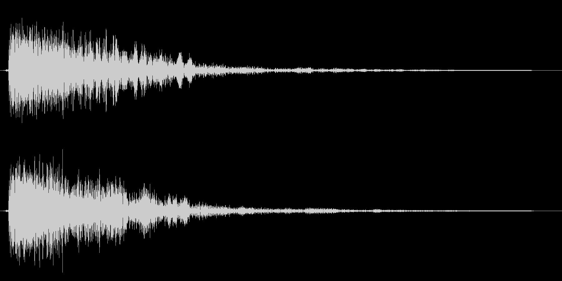 コミカルなダッシュ,ジャンプ効果音!9bの未再生の波形