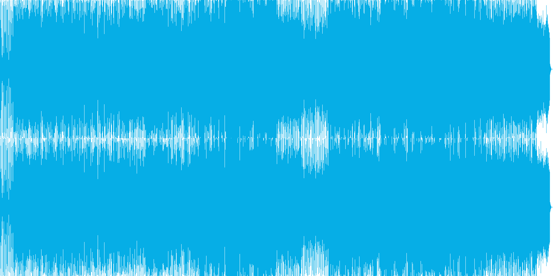 男性ボーカル / 情緒的なポップスの再生済みの波形
