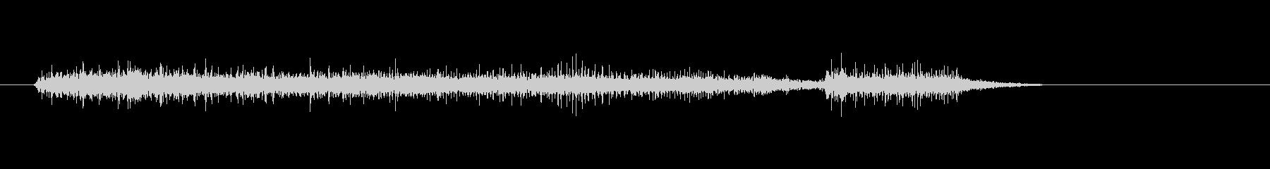 もう限界な感じのリアルなオナラの音の未再生の波形