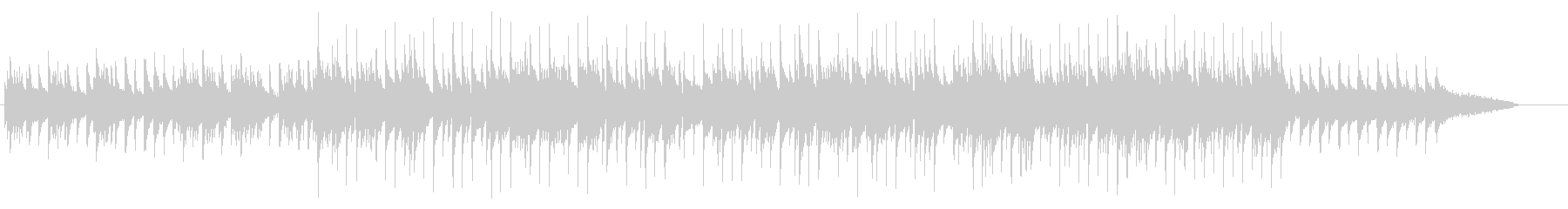 回顧録向けメロディアスなピアノ・バラードの未再生の波形