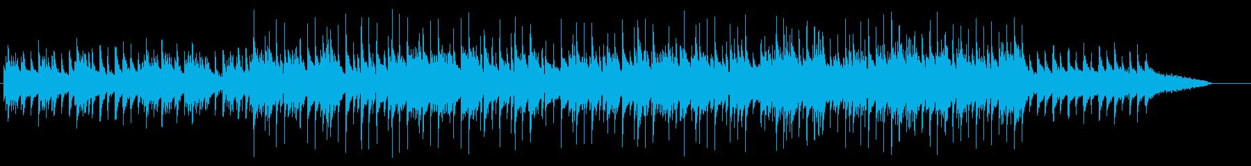 回顧録向けメロディアスなピアノ・バラードの再生済みの波形