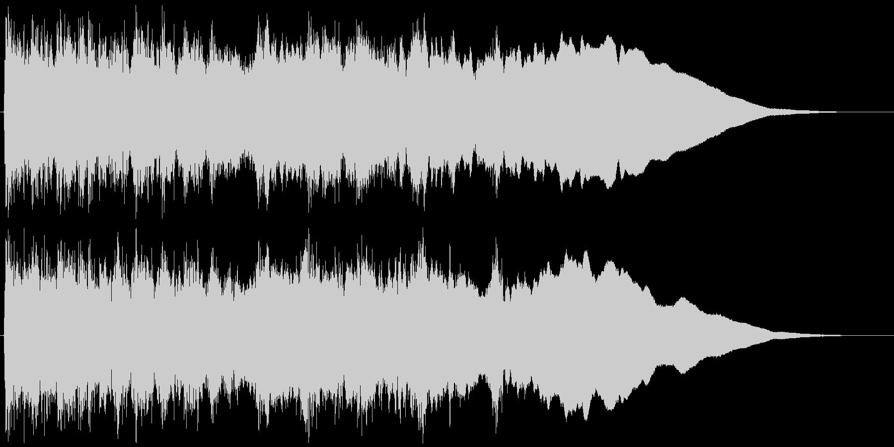 メタルギター ハーモニックマイナー速弾きの未再生の波形