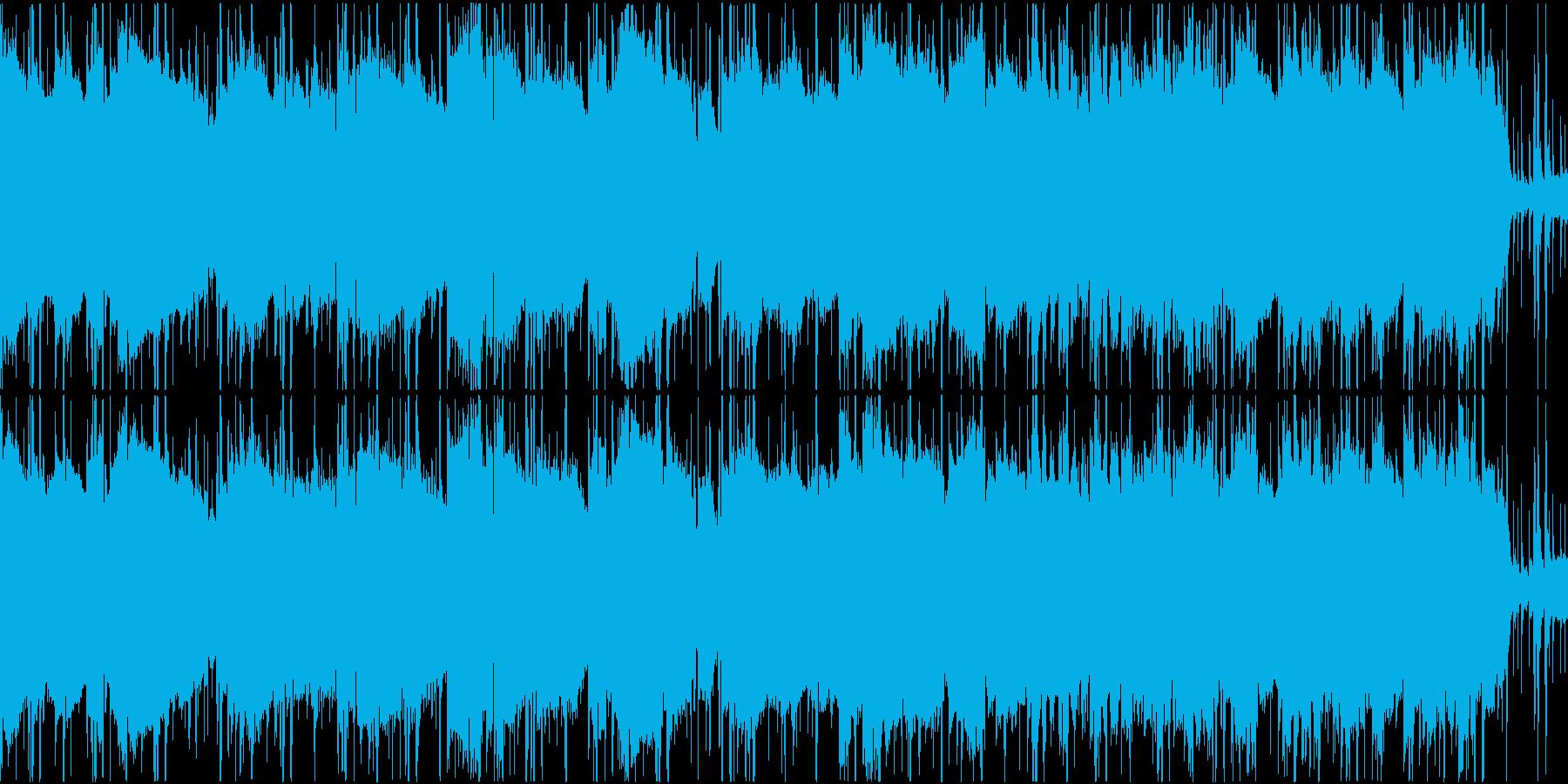 探偵・刑事モノ・捜査中のジャズ系・ループの再生済みの波形