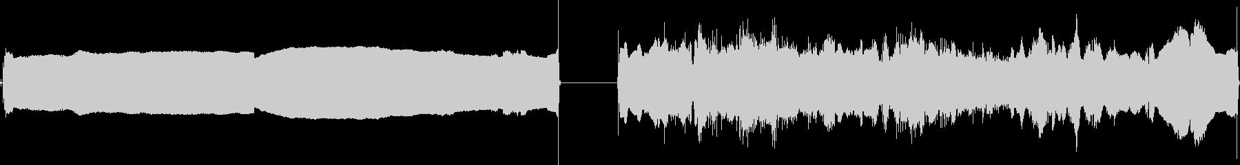 シェーバー、電動、小、2バージョン...の未再生の波形
