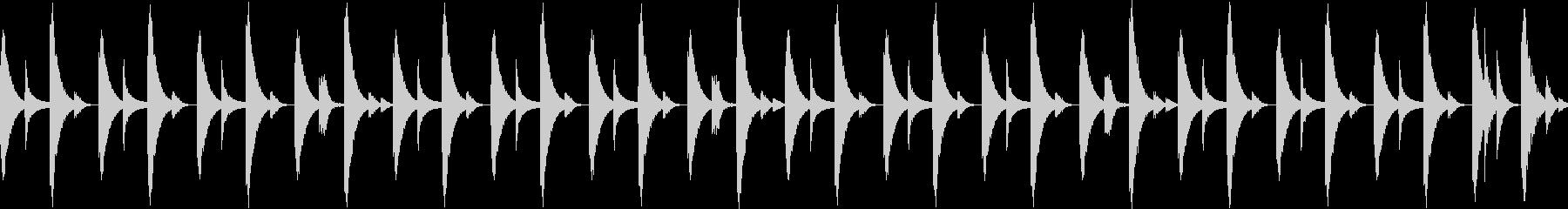 808音源を使用したシンプルなリズム03の未再生の波形