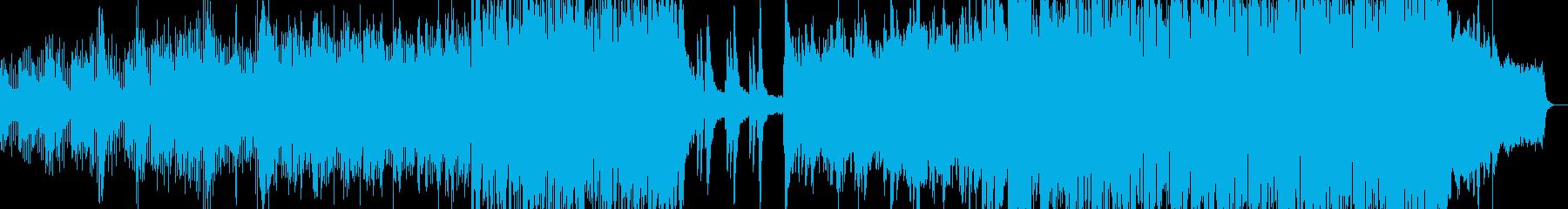 90'sのゲーム音楽の再生済みの波形