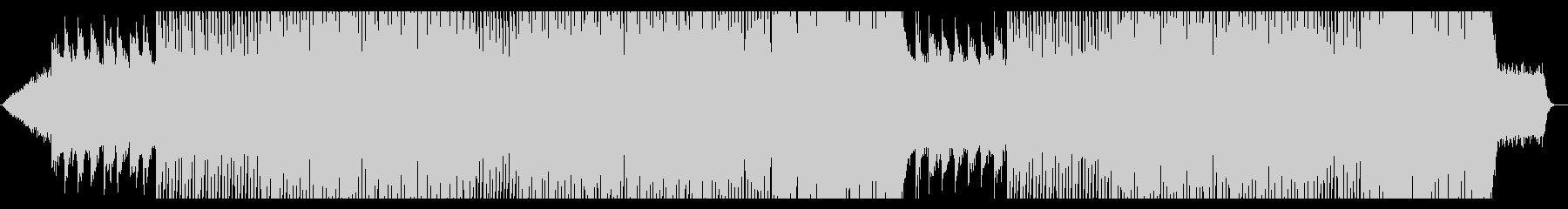宇宙にいるような曲(メロディ有)の未再生の波形