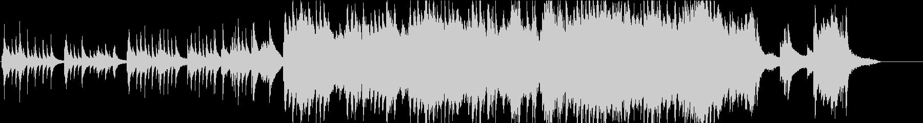 ピアノと弦のベタなやや感動BGMの未再生の波形