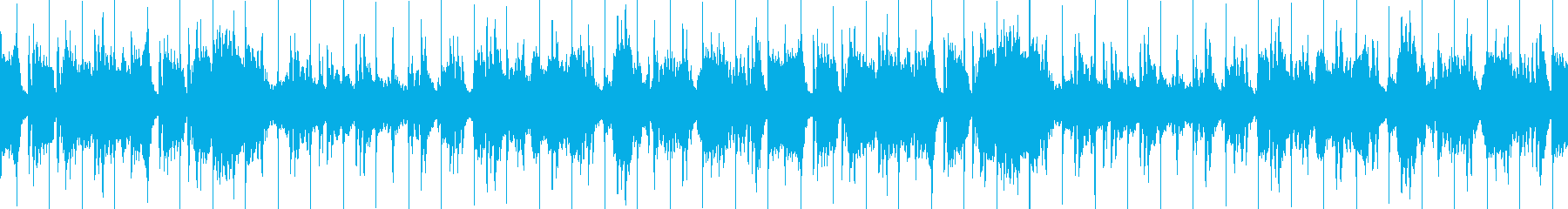 陽だまりの様な優しい和風曲ループの再生済みの波形