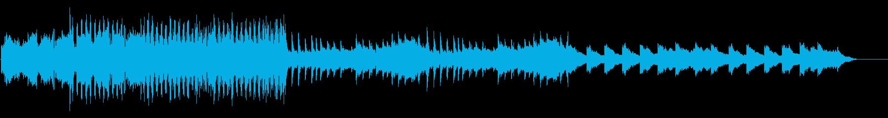 哀愁漂う美しいエレピ、ピアノ、チェレスタの再生済みの波形