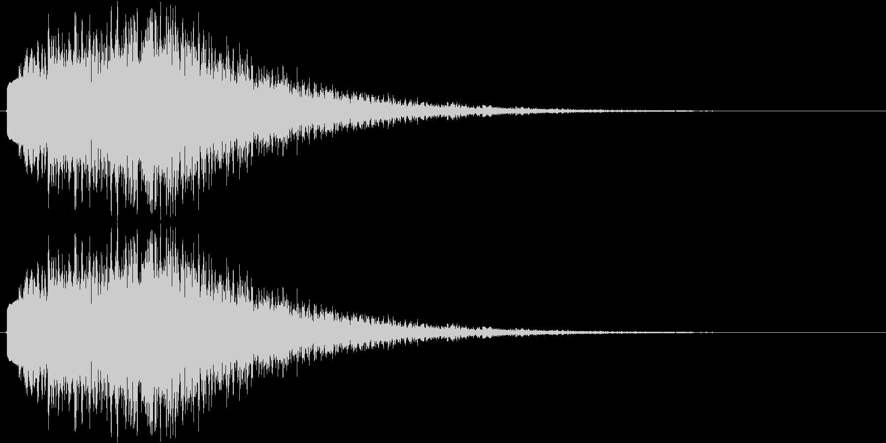 サスペンス、推理等の未再生の波形