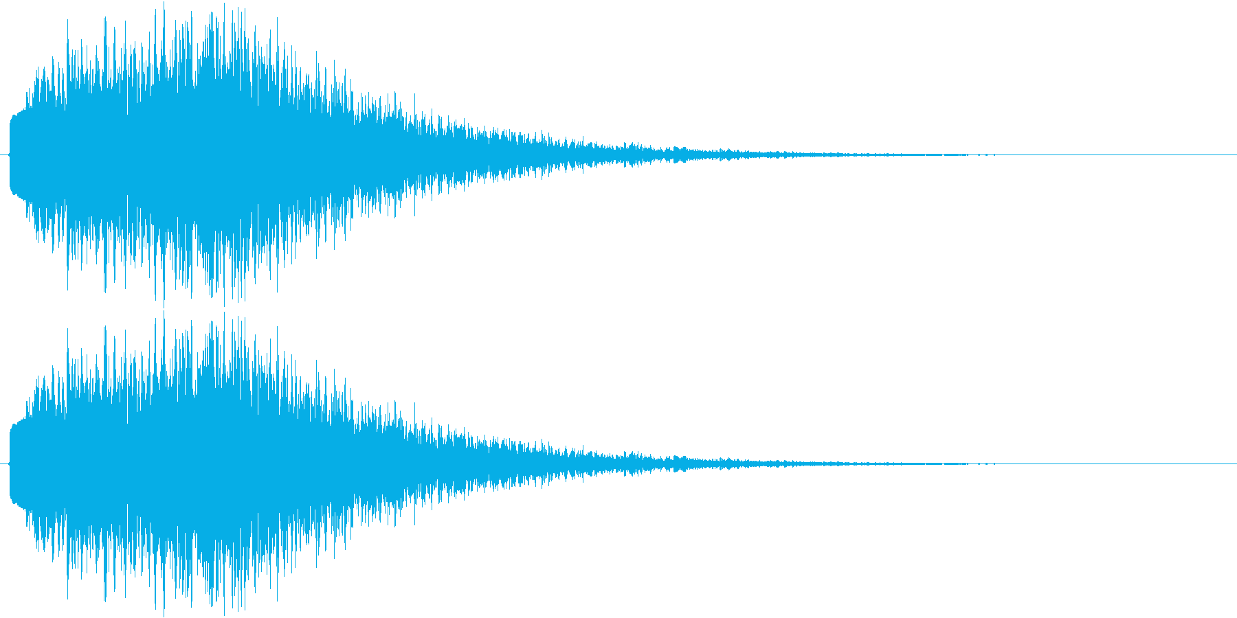 サスペンス、推理等の再生済みの波形
