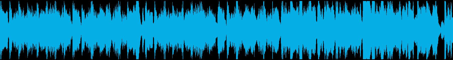 教育コンテンツ向け_01(ループ)の再生済みの波形