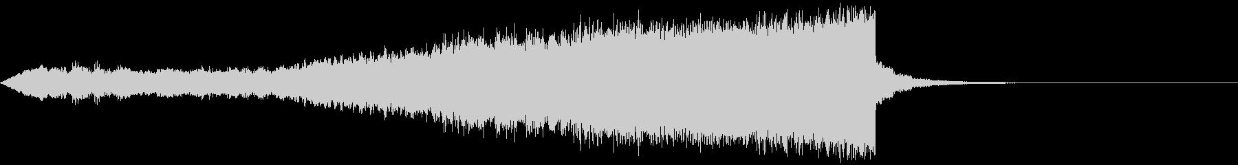 CINEMATIC RISER_46の未再生の波形