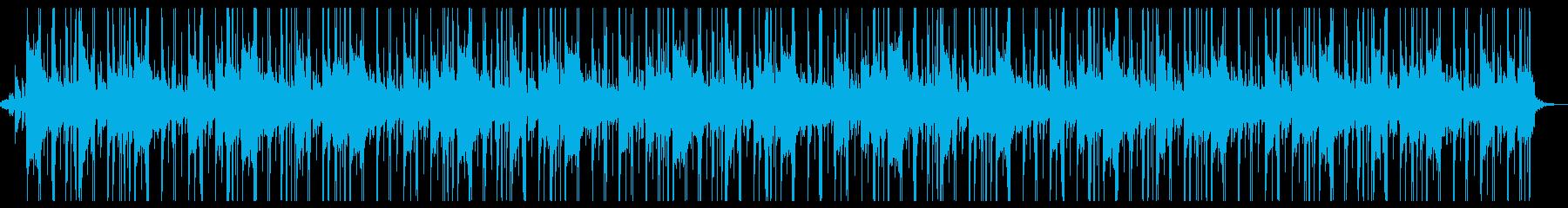 神秘的で透きとおるBGMの再生済みの波形