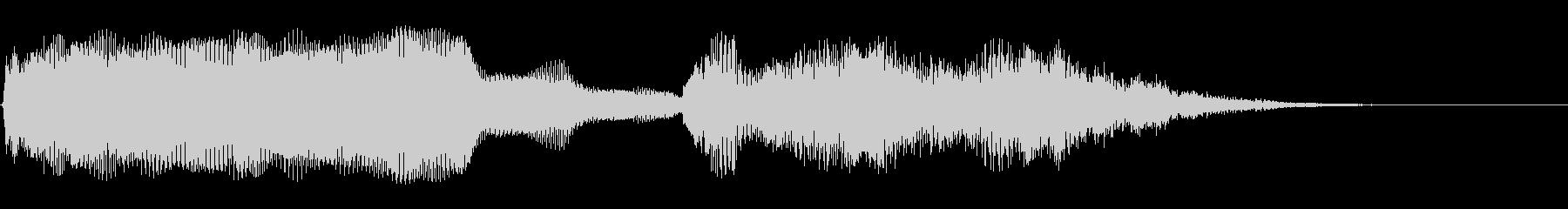 スムーズなシンセアクセント6の未再生の波形