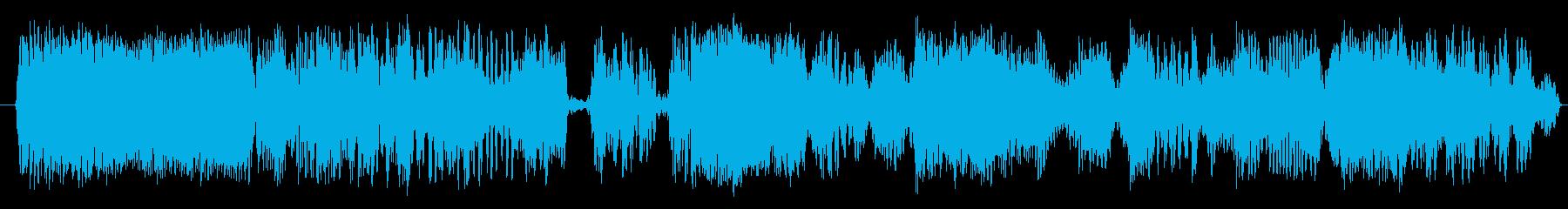 スイープビートの再生済みの波形