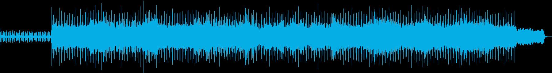 レトロゲーム風BGM(戦闘)の再生済みの波形