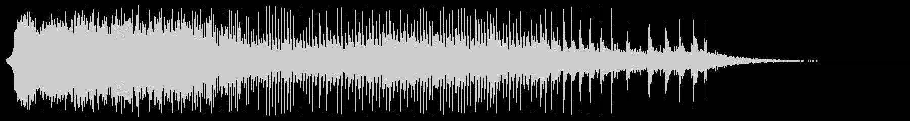 ギィィー(木のきしみ音)の未再生の波形