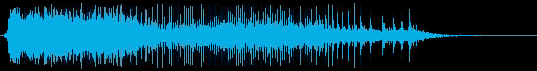 ギィィー(木のきしみ音)の再生済みの波形