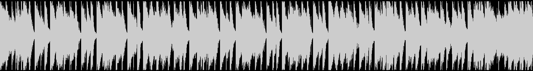 穏やかなアコースティックポップ(ループ)の未再生の波形