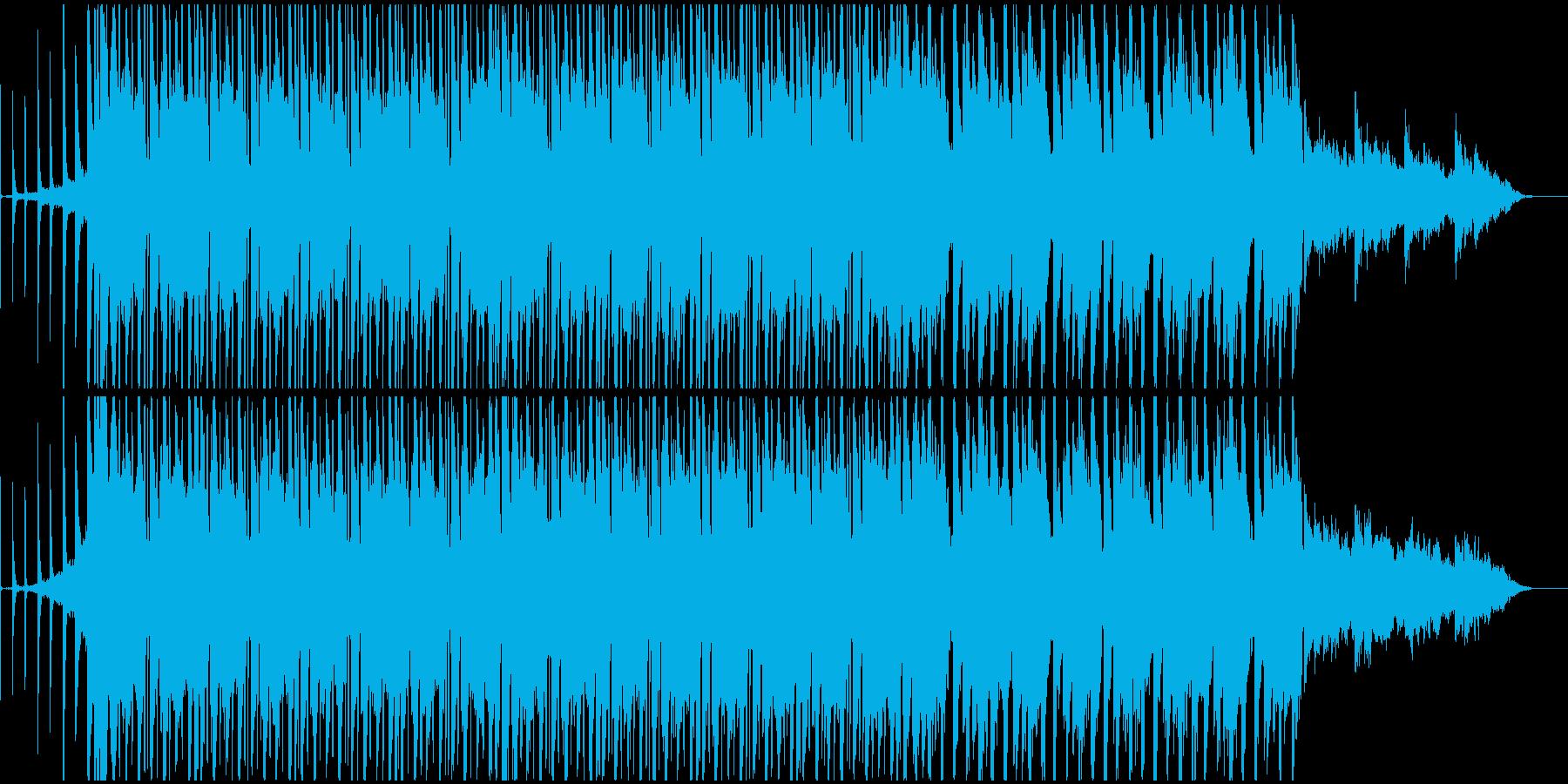 60秒ver ノリの良いポップなテクノの再生済みの波形